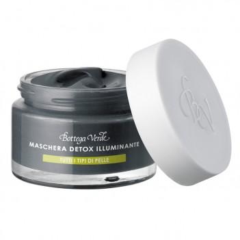 Detox-маска для обличчя — вугілля - сицилійська глина