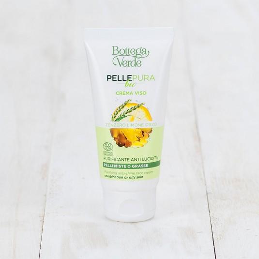 Крем для обличчя «Pelle pura bio»