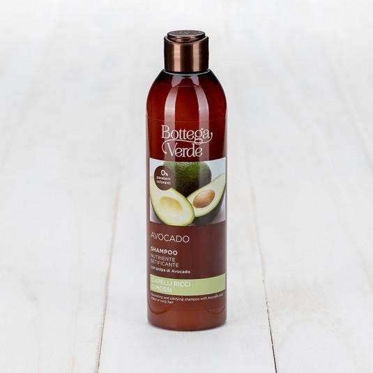 Поживний шампунь для шовковистих локонів «Avocado»